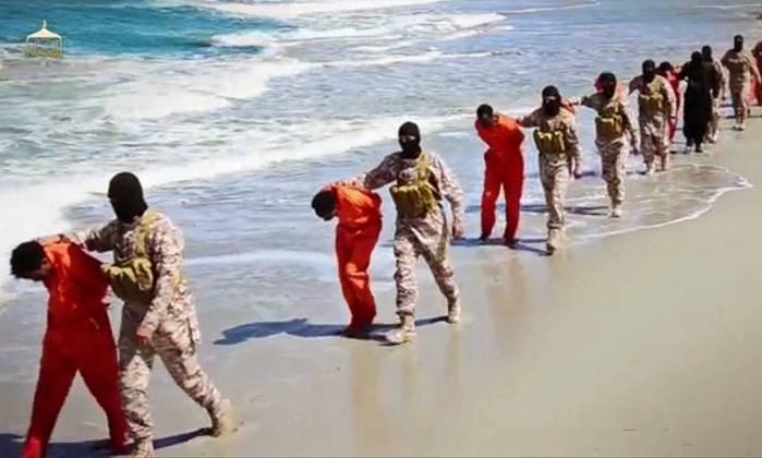 Imagem divulgada pelo Estado Islâmico