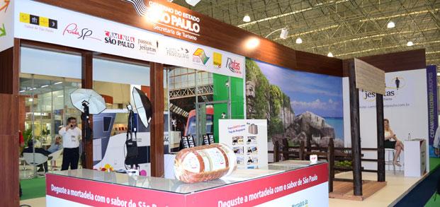 A Secretaria de Turismo contará com dois estandes na WTM Latin America /Foto: Divulgação