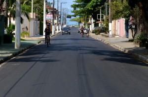 A obra faz parte da recuperação do corredor turístico, que inclui diferentes vias da região