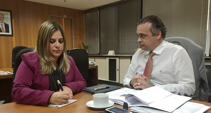 Roberto de Lucena e a psicóloga Marisa Lobo
