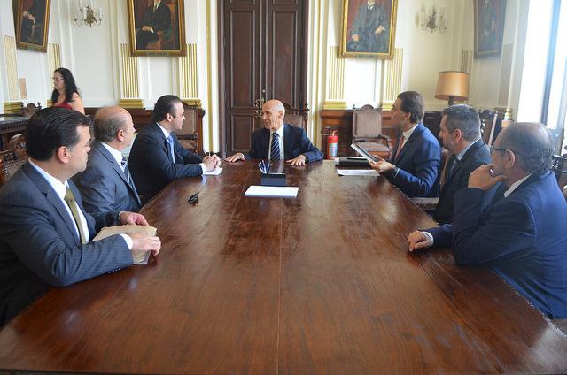 Reunião na Secretaria de Justiça e Cidadania